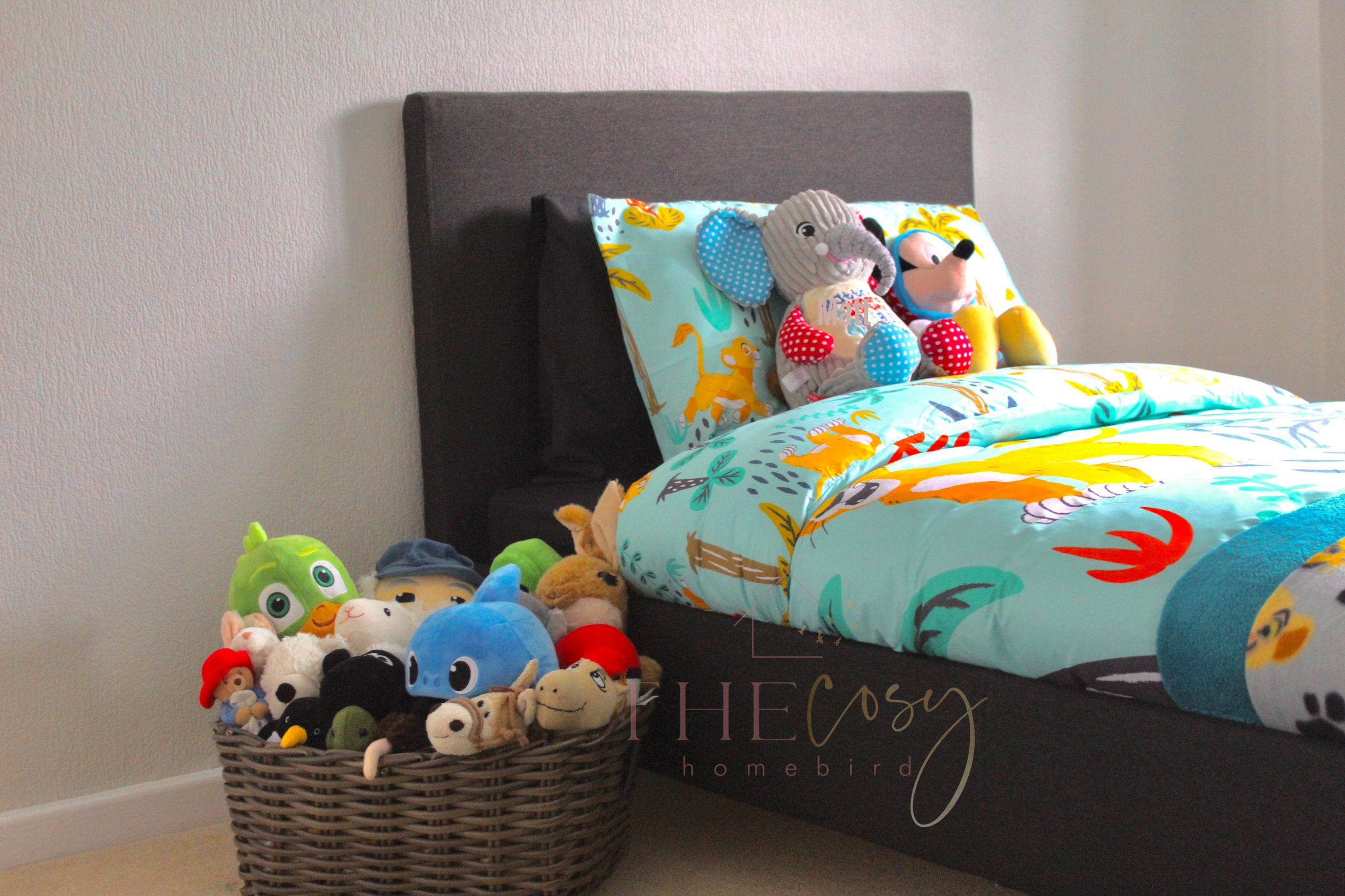 How I Decorated My Toddler Boy S Bedroom By Only Buying 3 Items During Lockdown The Cosy Homebird